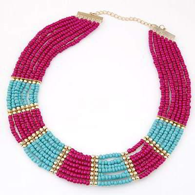 Beads Weave Multilayer Design T5FFEB Multicolor