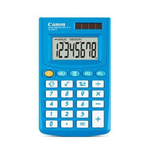 Canon Kalkulator 8 Digit LS 270V II Biru