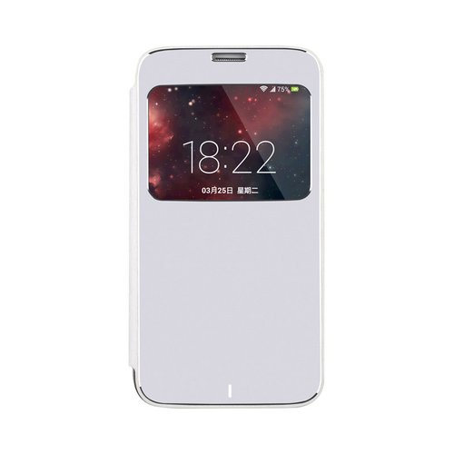 harga BASEUS Nobel Business Leather Case Samsung Galaxy S5 Silver Ralali.com