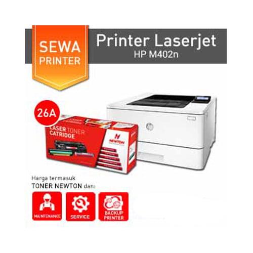 Newton Sewa Printer HP LaserJet M402n