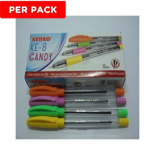 KENKO Pen Ink KE 8 Candy 1 Pack Isi 12pcs