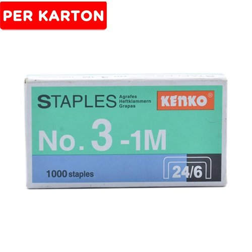 Kenko Staples No.3 20 Box