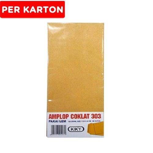 KIKY B Amplop Coklat 303 10Pcs