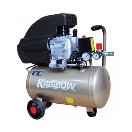 Krisbow Compressor 2Hp 24L 8Bar 1Ph Direct KW1300924