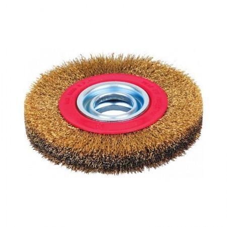 KRISBOW Bench Grinder Brush 566062-3008 KW0300043 200X25 mm