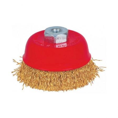 KRISBOW Crimp Cup Brush 613063-3108 KW0300046 80 mmxM10x1.5
