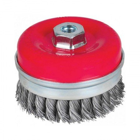 KRISBOW Knot Cup Brush 608153-3008 KW0300051 80 mmxM14x2