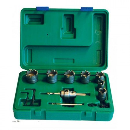 KRISBOW KW0200688 Hole Saw Kits Outer Dia.19-35MM type:KW0200689
