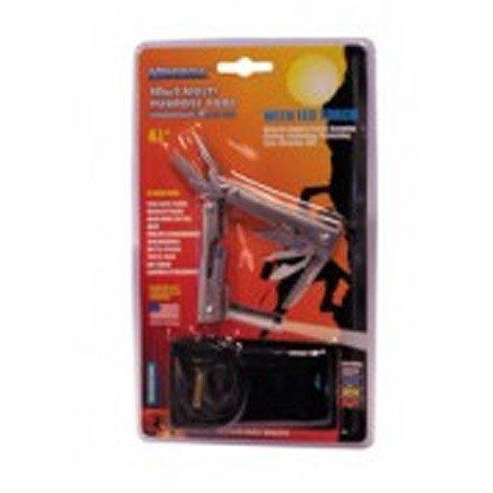KRISBOW KW0102925 Multi Tool 4.5 Inch with Led Torch Grey type:KW0102928 (DC)