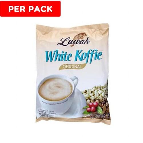 LUWAK White Koffie Original 20gr Isi 10Renceng