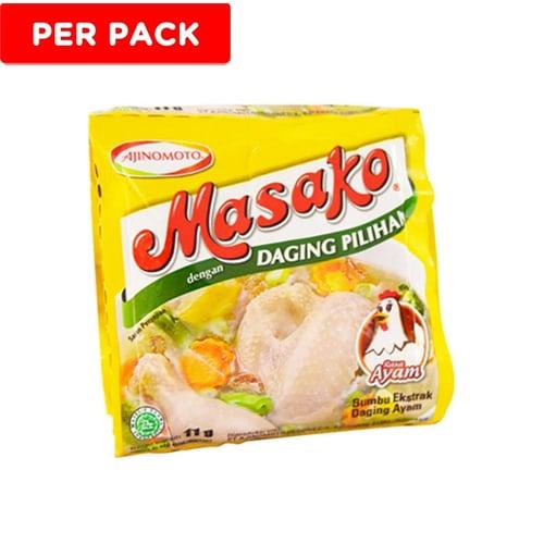 MASAKO Daging Ayam 11gr 1Pack Isi 12pcs