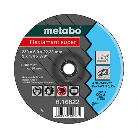 METABO Grinding Discs 16739 MB0000345 115 mm