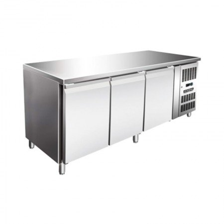 harga MODENA CF 3180 Stainless Steel Counter Freezer  465 L  1795x700x860mm  3 Doors  3 Shelves Ralali.com