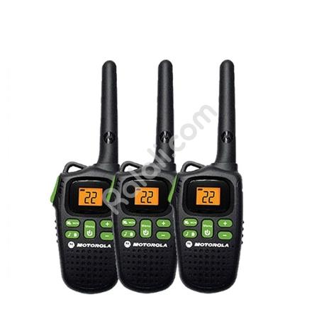 MOTOROLA Walkie Talkie MD200TPR - 3 Handsets