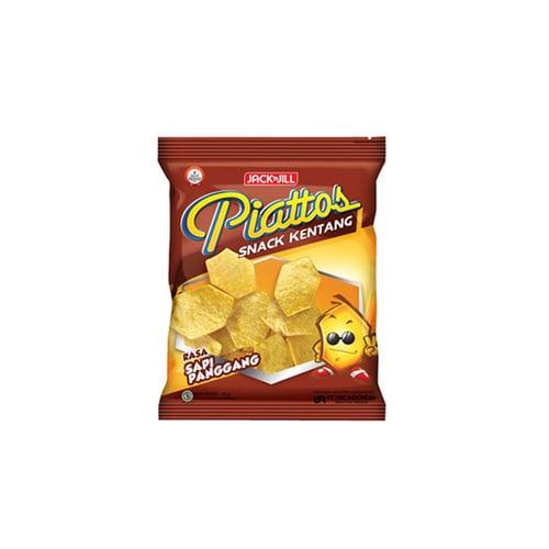 PIATTOS Snack Kentang Sapi Pangang 50gr
