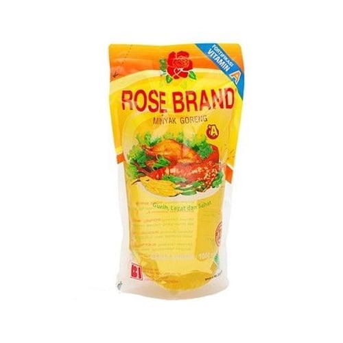 ROSE BRAND Minyak Goreng Pouch 1Ltr
