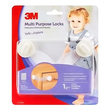 3M CHILD Safety Multi Purpose Lock 7100063050