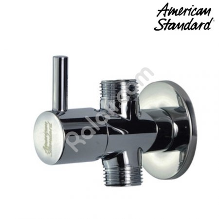 AMERICAN STANDARD Stop Valve Brass In 1 Out 2 A 5602