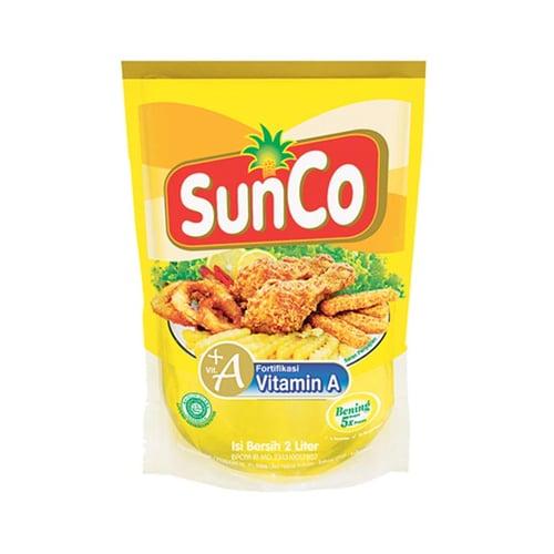 SUNCO Minyak Goreng Pouch 2ltr