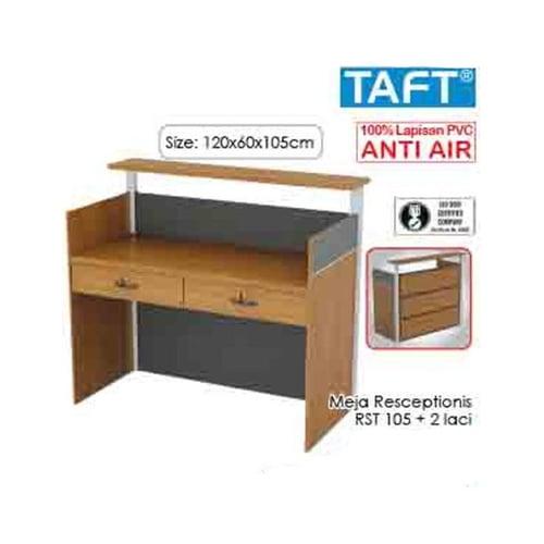 TAFT Meja Receptionist RST 105 2 Laci