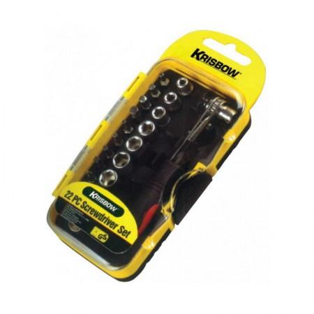 KRISBOW KW0103784 Auto Repairing Toolset (22Pcs)