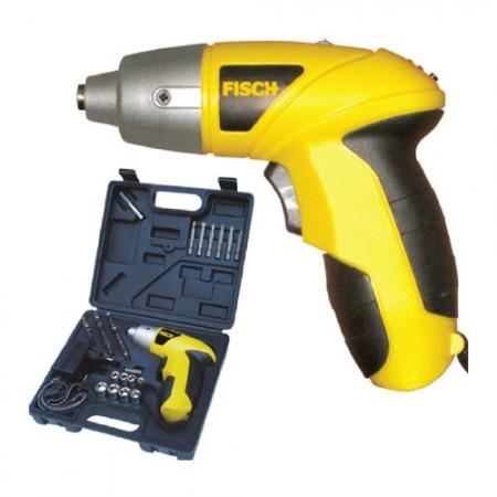FISCH 4.8V Cordless Screwdriver Kit TS601810