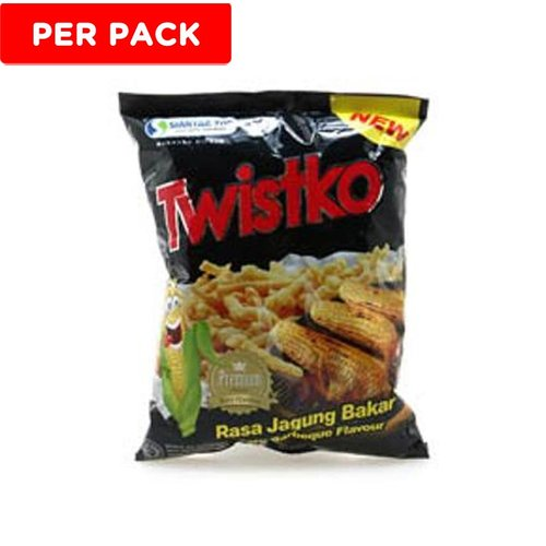 TWISTKO Jagung Bakar 30gr 1pack Isi 6pcs