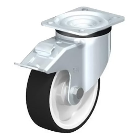 BLICKLE LK-POTH 125K-1 Thermoplastic Polyurethane Tread with Swivel Castors Type:LK-POTH 125G-3