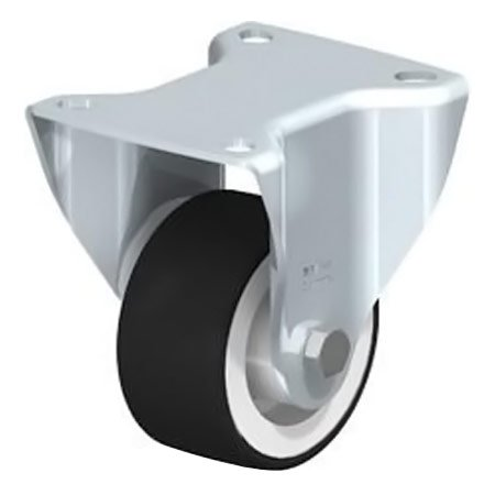BLICKLE BK-POTH 75G Thermoplastic Polyurethane Tread with Fixed Castors Type:BK-POTH 125G-1