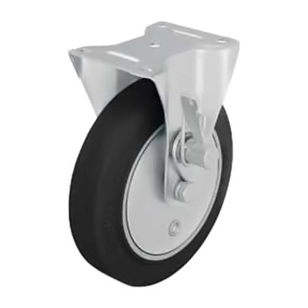 BLICKLE B-GEV 160K-TM Fixed Castors with Dead Man's Brake Type:B-GEV 200K-TM-SG