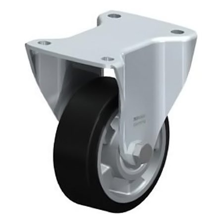 BLICKLE BH-ALEV 127K Wheel with Elastic Solid Rubber Tyre Fixed Castors Type:BH-ALEV 150K