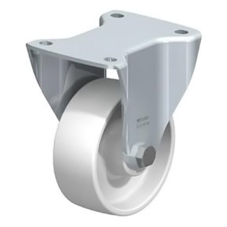 BLICKLE BH-PO 127R with Top Plate Fitting & Nylon Wheel Fixed Castors Type:BH-PO 127K