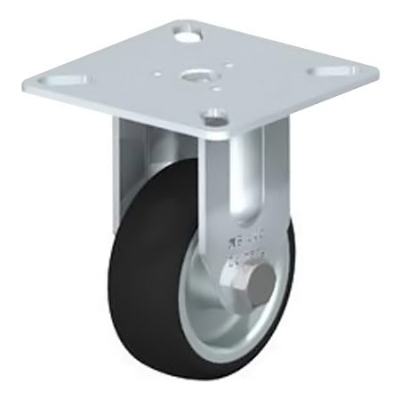 BLICKLE BPA-PATH 50G Thermoplastic Polyurethane Tread with Fixed Castors Type:BPA-PATH 75K-FK