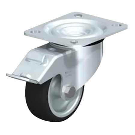 BLICKLE L-PATH 80G-FI wheel with thermoplastic polyurethane tread Swivel castors with Brake Type:L-PATH 100K-FI-FK