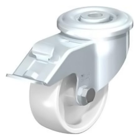 BLICKLE LER-PPN 80G-FI Bolt Hole Fitting with Polypropylene Wheel Swivel Castors Brake Type:LER-PPN 100R-FI