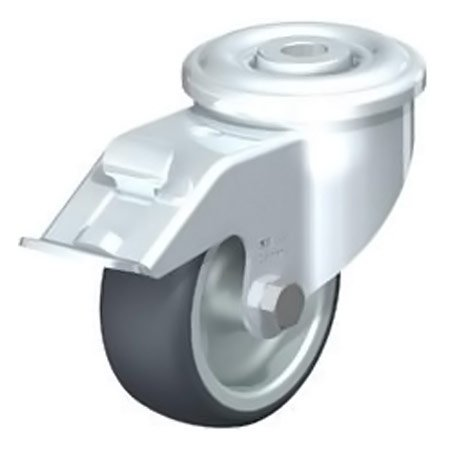 BLICKLE LER-TPA 80G-FI Thermoplastic Rubber Tread with Swivel Castors Brake Type:LER-TPA 160G-FI