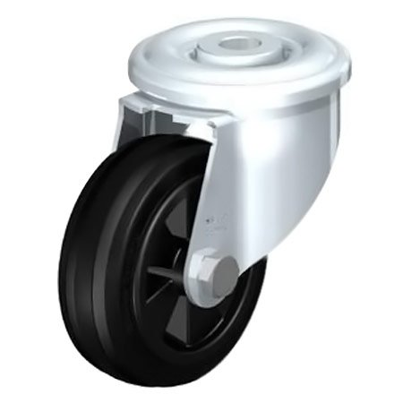 BLICKLE LER-VPP 80G Standard Solid Rubber Tyre with Swivel Castors Type:LER-VPP 200G