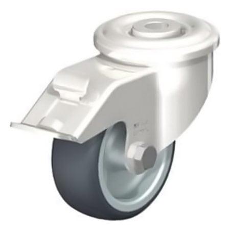 BLICKLE LEXR-TPA 80G-FI Wheel Thermoplastic Rubber Tread Swivel Castors with Brake Type:LEXR-TPA 200KD-FI