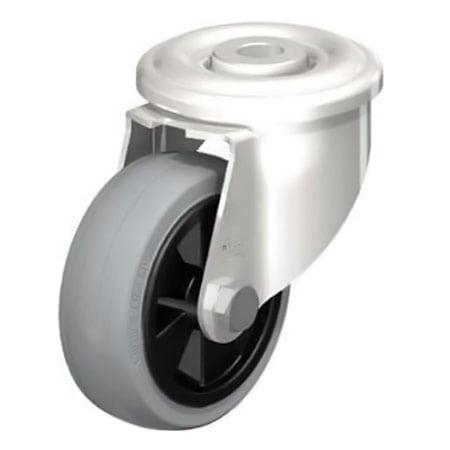 BLICKLE LEXR-VPP 80G-SG Wheel with Standard Solid Rubber Tyre Swivel Castors Type:LEXR-VPP 160G-SG