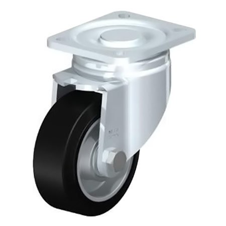 BLICKLE LH-ALEV 100K-1 Wheel with Elastic Solid Rubber Tyre Swivel Castors Type:LH-ALEV 150K