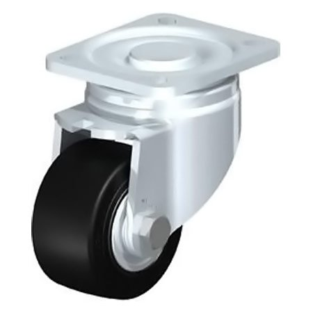 BLICKLE LH-SE 80K Wheel with Elastic Solid Rubber Tyre Swivel Castors Type:LH-SE 160K