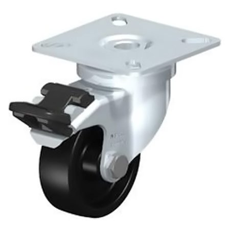 BLICKLE LPA-POA 50G-FI Nylon Wheel with Swivel Castors Brake Type:LKPA-POA 100K-FI