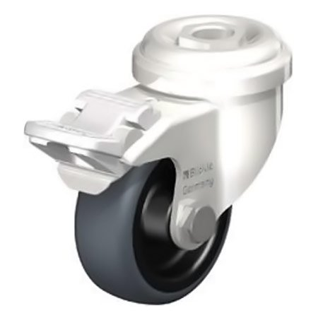 BLICKLE LRXA-TPA 50G-FI Wheel Thermoplastic Rubber Tread Swivel Castors with Brake Type:LKRXA-TPA 126G-FI
