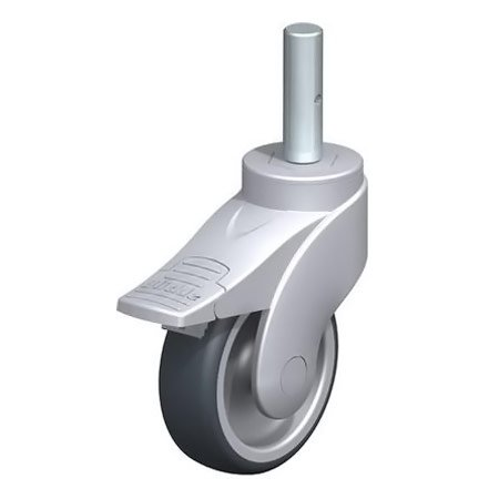 BLICKLE LWG-TPA 101G-FI-ZA51 Thermoplastic Rubber Tread with Swivel Castors Type:LWG-TPA 101G-FI-ZA58