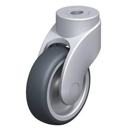 BLICKLE LWG-TPA 101G Thermoplastic Rubber Tread with Swivel Castors Type:LWG-TPA 126K-11-FK
