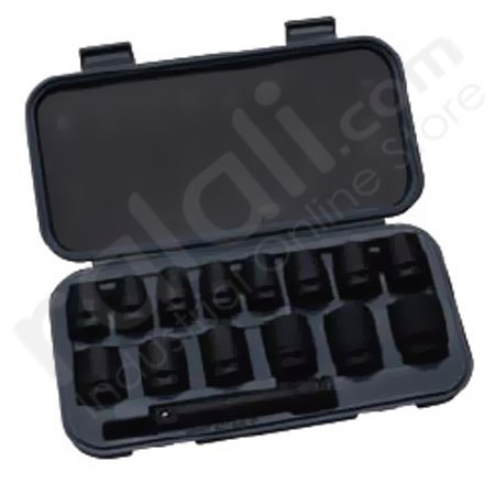 BLUE POINT BLPATSIMM1215 Drive Socket Set @15Pcs (Tool Set)