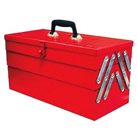 KRISBOW KW0100812 Steel Tool Box 3Step 47x21x23cm type:KW0100813