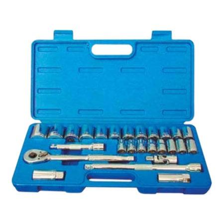KRISBOW KW0101371 Socket SQ1/2 Inch 10-32MM @26Pcs type:KW0101372
