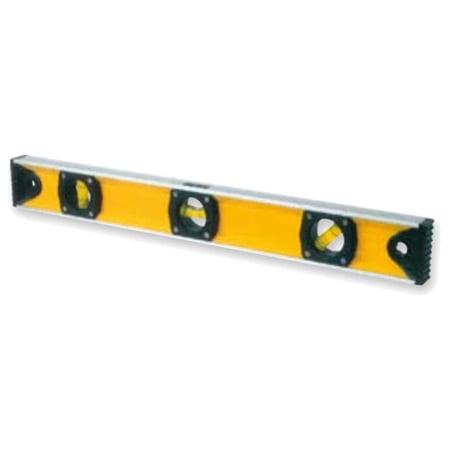 KRISBOW KW0101400 Spirit Level Yellow 400MM type:KW0101404
