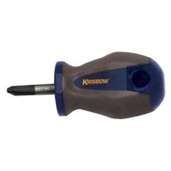 KRISBOW KW0101882 Stubby Srewdriver (+) 5x25MM PH#1 type:KW0101883